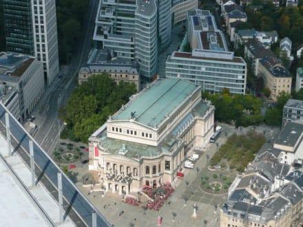 Alte Oper von oben - Maintower