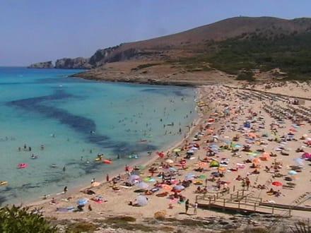 Strand von Cala Mesquida - Strand Cala Mesquida