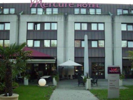 Rückseite des Hotels  - Hotel Mercure Bregenz City