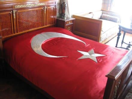Schlafgemach von Sultan Abdülaziz - Dolmabahce Palast