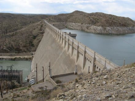 Elephant Butte Dam in New Mexico - Elephant Butte Lake State Park