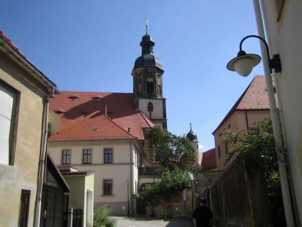 Dippoldeswalde, Kirche - Altstadt Dippoldiswalde