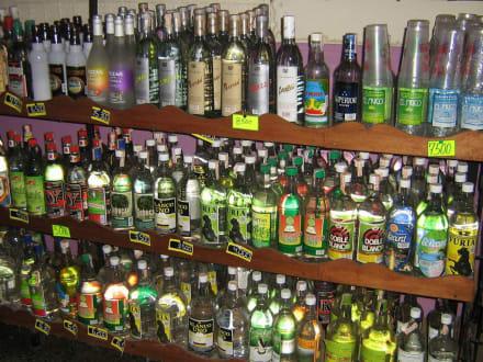 Likörgeschäft in Caribe - Shops in Caribe