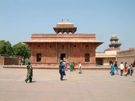 Im Königspalast von Fatepur Sikri - Fatehpur Sikri