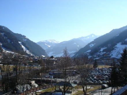Blick auf Großarl - Skigebiet Großarl