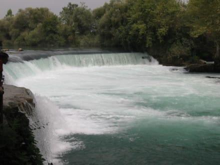 Der berühmte Wasserfall von Manavgat - Manavgat Wasserfälle