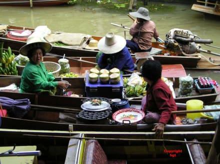 Handelsbeziehungen - Schwimmende Märkte / Floating Market / Damnoen Saduak