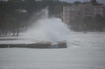 Sturm - Strandpromenade Playa/Platja de Palma