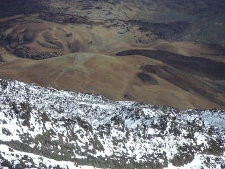 Steil nach unten - Teide Nationalpark