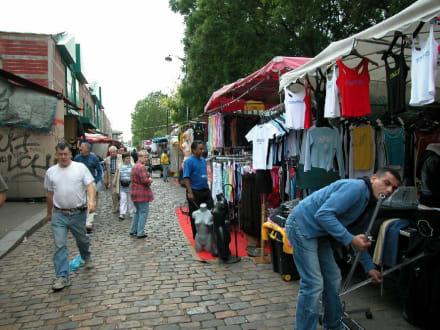 Flohmarkt in Paris St-Quen - Puces de Saint-Quen / Flohmarkt Saint-Quen