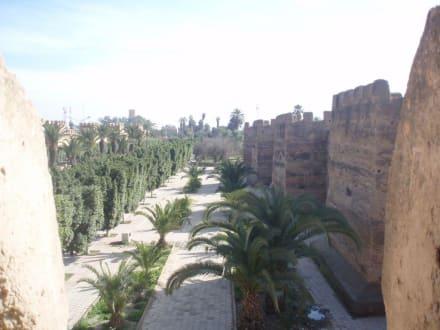 Stadtmauer Taroudannt - Stadtmauer und Medina