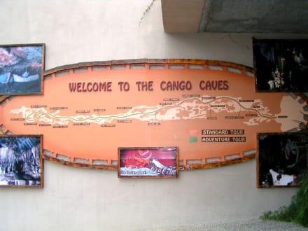 Schild - Cango Caves