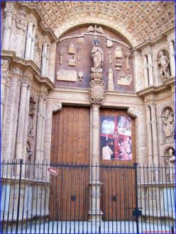 Seitenportal der Kathedrale von Palma - Kathedrale La Seu
