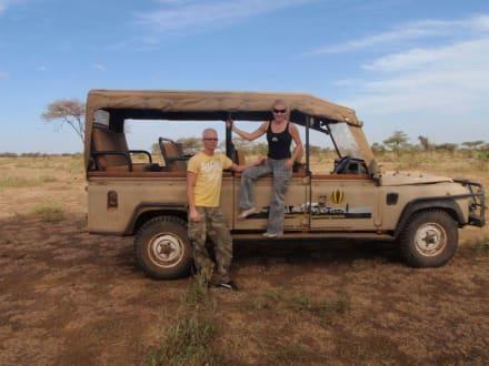 Amboseli Baloon-Jeep - Amboseli Nationalpark