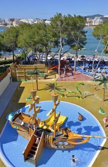 Splash Pool View - Intertur Hotel Miami Ibiza -
