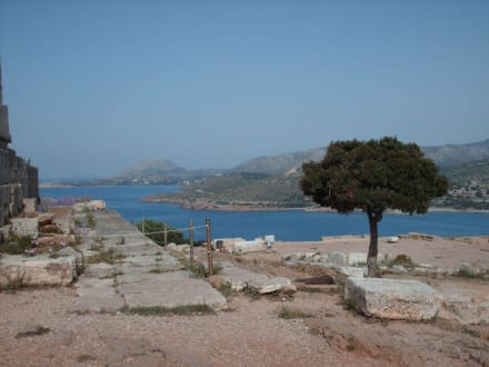 Abenrs ist es hier noch schöner - Poseidon-Tempel