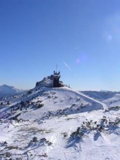Winterlandschaft - Skigebiet Hochkar