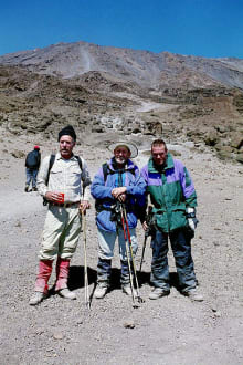 Kibo Hütte - Kilimanjarobesteigung
