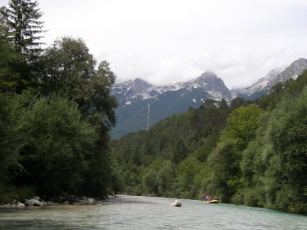 Waters (river/lake/waterfall)  - Rafting Bovec