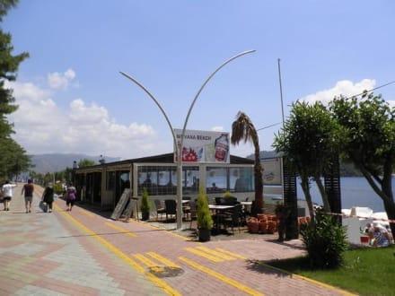 Die Nirvana Bar an der Icmeler Promenade - Nirvana