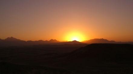 Es wird Nacht in der Wüste - Wüste