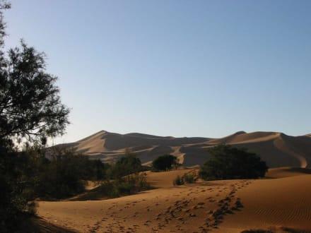 Sanddüne im Erg Chebi - Dünen Erg Chebbi