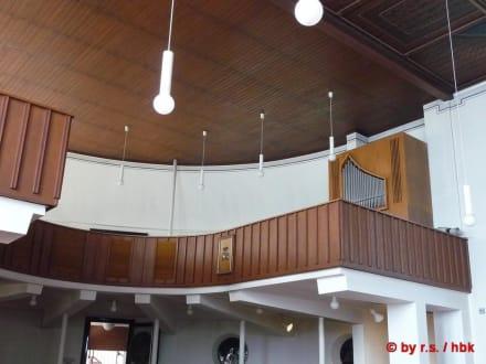 Die Orgel - Inselkirche