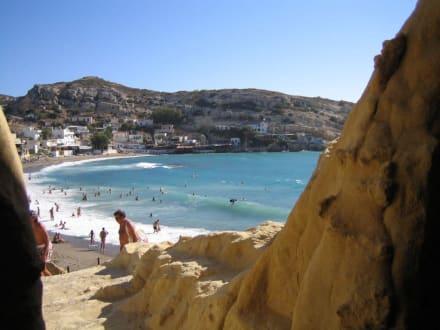 Hippi Höhle - Höhlen von Matala