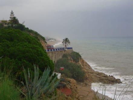 Küstenblick - Strand Calella