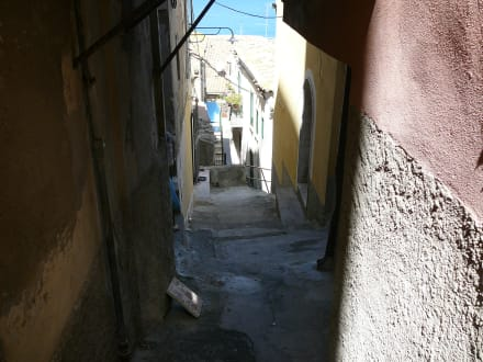 Enge und steile Gasse in Pizzo - Altstadt Pizzo Calabro