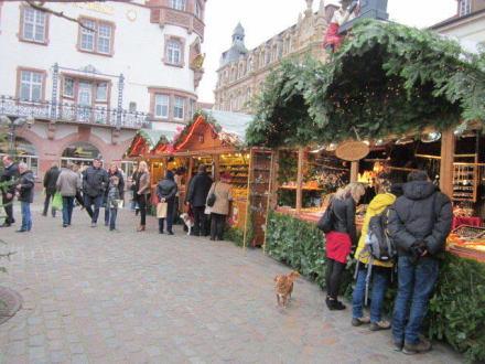 Landau Weihnachtsmarkt.Bilder Altstadt Landau Weihnachtsmarkt Reisetipps