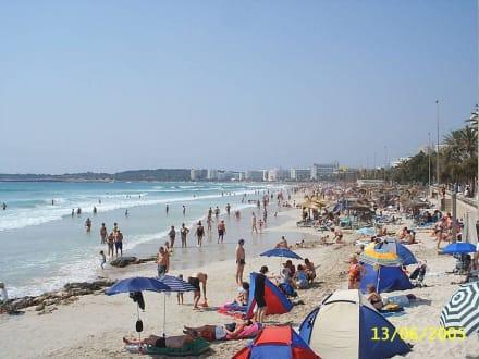 Hauptstrand - Strand Cala Millor