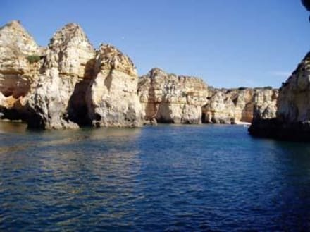 Felsenküste westlich vor Lagos - Ponta da Piedade