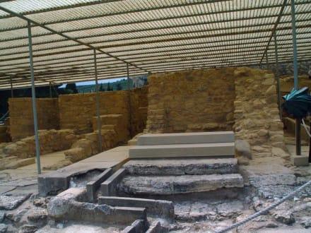 Knossos, erstes Kanalisationssystem Europas - Knossos