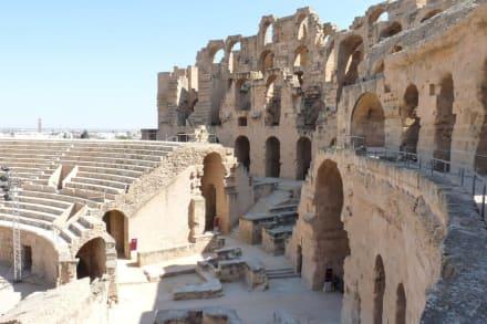 Historic sites (castle, palace, ruins, etc.) - Amphitheatre of El Jem