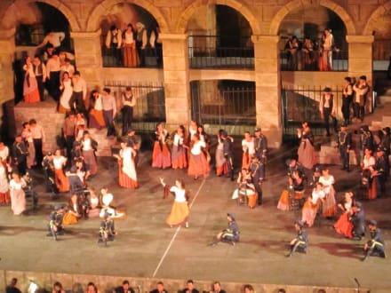 Aufführung Carmen - Festspiele in Aspendos