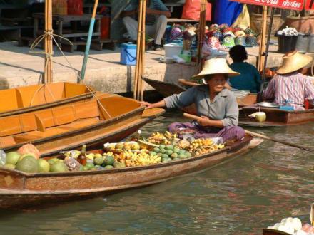 Damnoen Saduak - Schwimmende Märkte / Floating Market / Damnoen Saduak