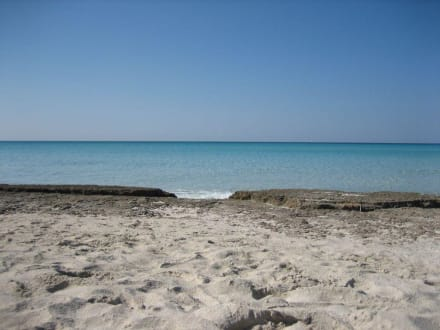 Das Meer war spiegelglatt - Platja Es Trenc