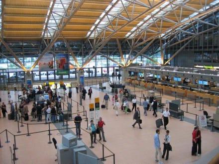 Hamburg-Airport neuer Terminal 4 - Flughafen Hamburg (HAM)