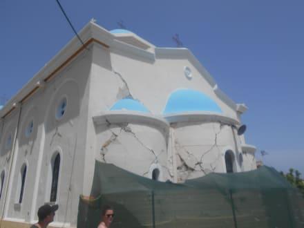 Erdbebenschäden in Kos - Inselrundfahrt