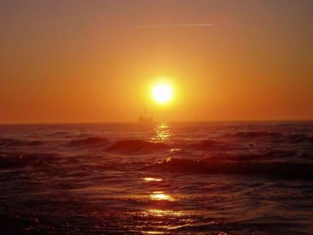 Sonnenuntergang - Strand Leba