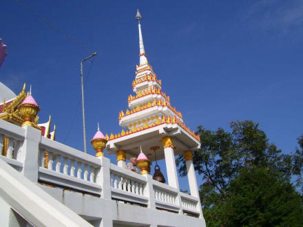 Tempel Ubol Ratana - Weisser Buddha