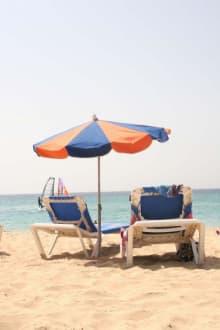 Liegeplätze am Strand von Jandia - Strand Jandia