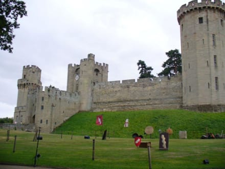 Haupteingang - Warwick Castle