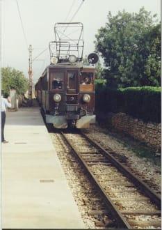 Roter Blitz, Palma d. Mallorca - Zug Tren de Sóller 'Roter Blitz'