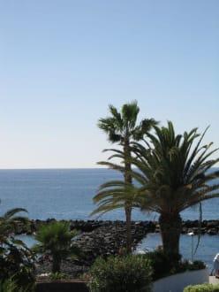 Blick auf Strandabschnitt - Strand El Duque
