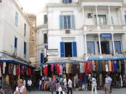 Zugang zur Altstadt - Altstadt Tunis