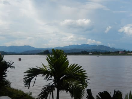 Blick nach Myanmar - Goldenes Dreieck
