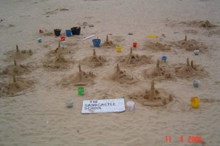 Am Strand von Caleta de Fuste - Strand Playa del Castillo