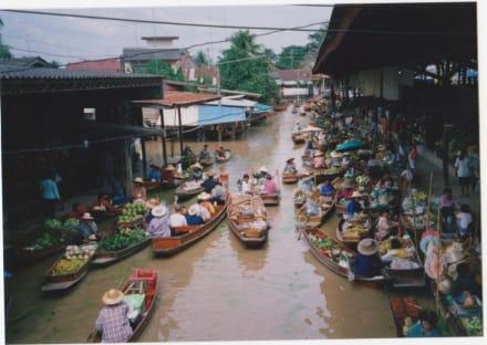am Fluss - Schwimmende Märkte / Floating Market / Damnoen Saduak
